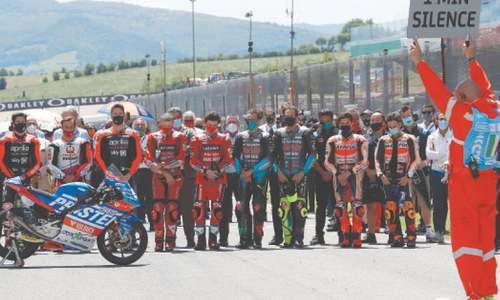 Quartararo wins Italian MotoGP shaken by Dupasquier's death