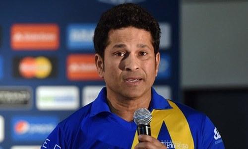 Tendulkar recalls he fielded for Pakistan before his India debut