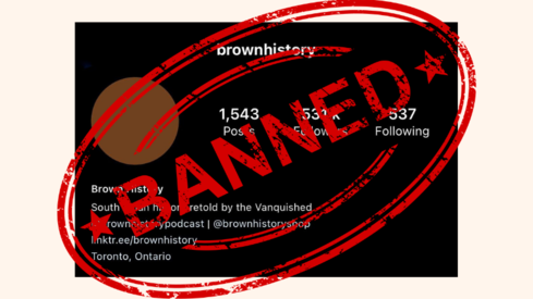 Instagram page Brown History back after being temporarily banned for pro-Palestine posts