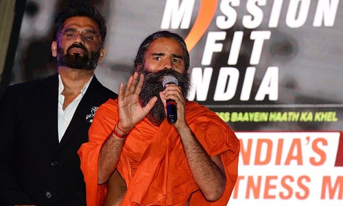 Indian doctors observe 'Black Day' to protest guru's claims that yoga prevents Covid-19