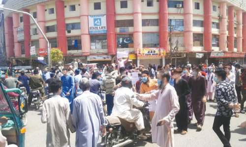 Karachi traders give 72-hour ultimatum to govt for acceptance  of their demands