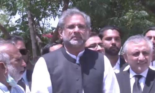 Former PM Shahid Khaqan Abbasi denies rift within PML-N