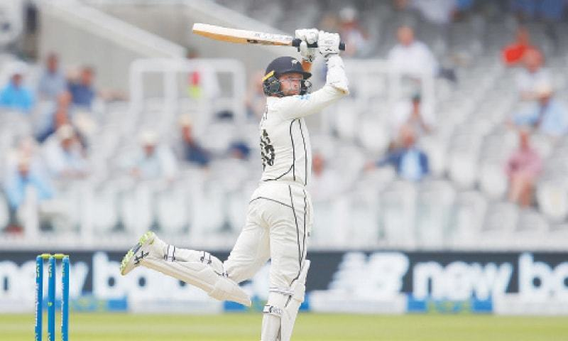 Conway slams record ton  on Test debut at Lord's