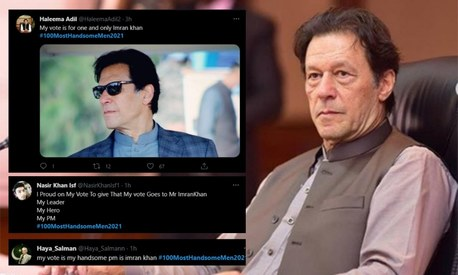 Who do Pakistanis think is the world's most handsome man? Imran Khan of course