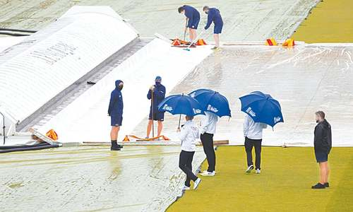 Rain frustrates England, NZ as day three of Lord's Test washed out