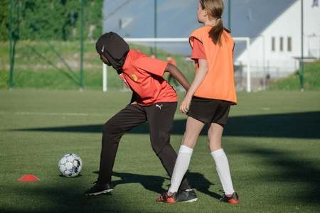 Finland's football association offers free sports hijabs to boost diversity