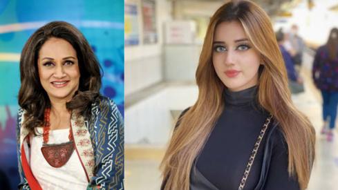 TikTok star Jannat Mirza doesn't want to hear any criticism from Bushra Ansari