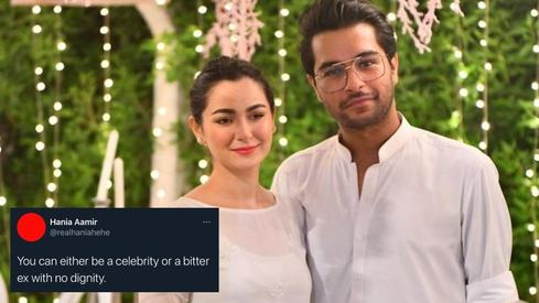 Hania Aamir and Asim Azhar air their dirty laundry on Twitter after she becomes the victim of trolls