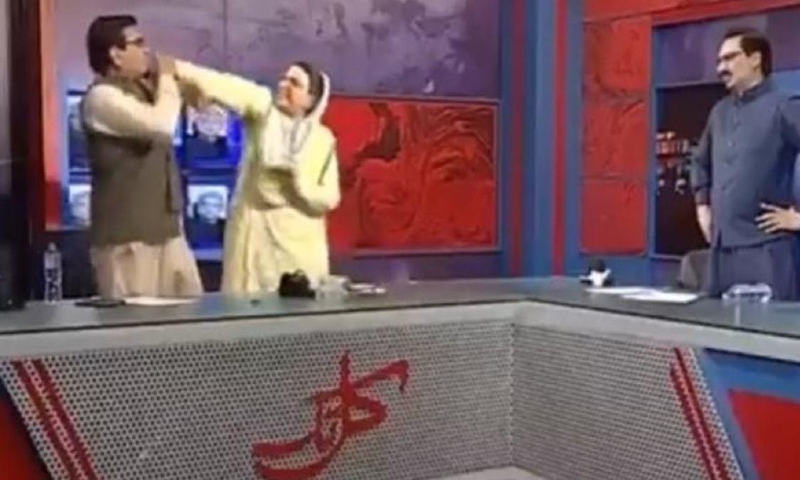Twitter crowns Firdous Ashiq Awan a WWE champion after she slaps an MNA on live TV