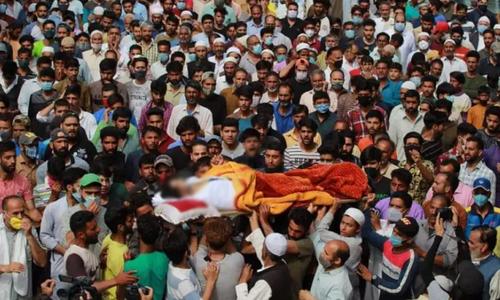 بھارتی فورسز کی کارروائی میں 3 کشمیری جاں بحق، پاکستان کی شدید مذمت