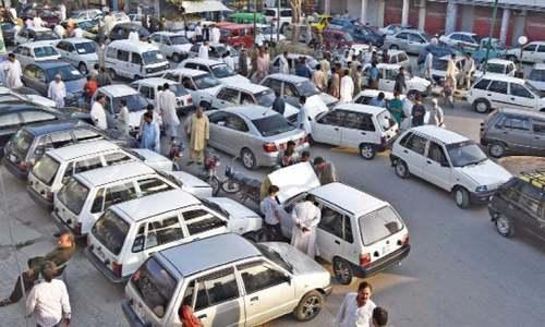Karachi remains in the iron grip of parking mafia