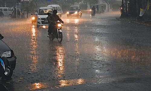 Rain, thunder showers expected in KP, Punjab