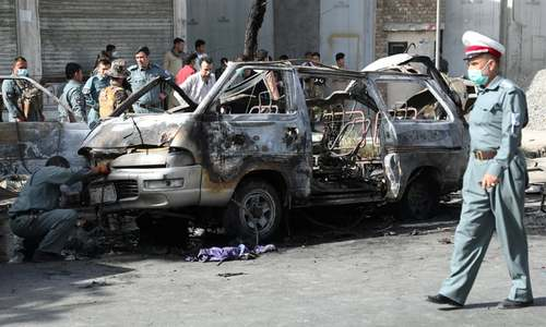 Bomb attacks in Kabul leave seven dead