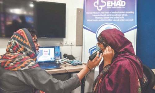 District hospitals in Sindh connected through telemedicine network