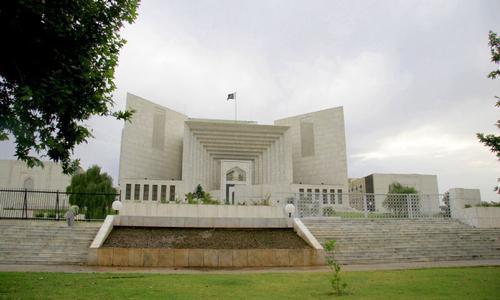 عدالتِ عظمیٰ نے کراچی میں دھرم شالہ کو مسمار کرنے سے روک دیا