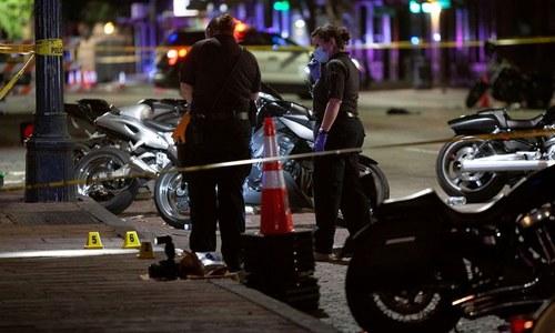 امریکی ریاست ٹیکساس میں فائرنگ سے 14 افراد زخمی، ایک ملزم گرفتار