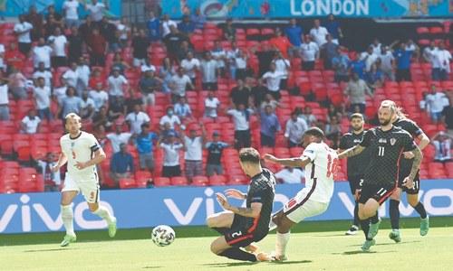 Sterling gives England winning start, Eriksen 'stable' after collapse