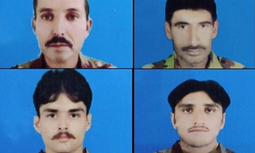 کوئٹہ: دہشت گردوں کے دیسی ساختہ بم حملے میں ایف سی کے 4 اہلکار شہید