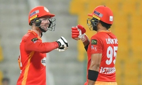 Islamabad capitalise on Karachi's atrocious fielding, overhaul stiff target