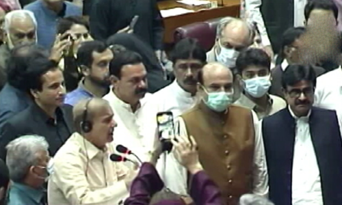 Fistfights, profanities mar National Assembly session