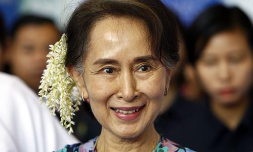 Junta brings sedition charge against Suu Kyi