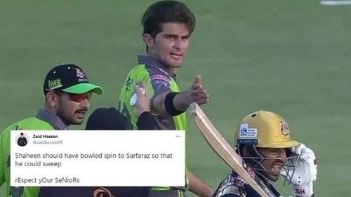 Respect versus competition: Twitter is divided on Shaheen Afridi and Sarfaraz Ahmed's on-pitch falling out