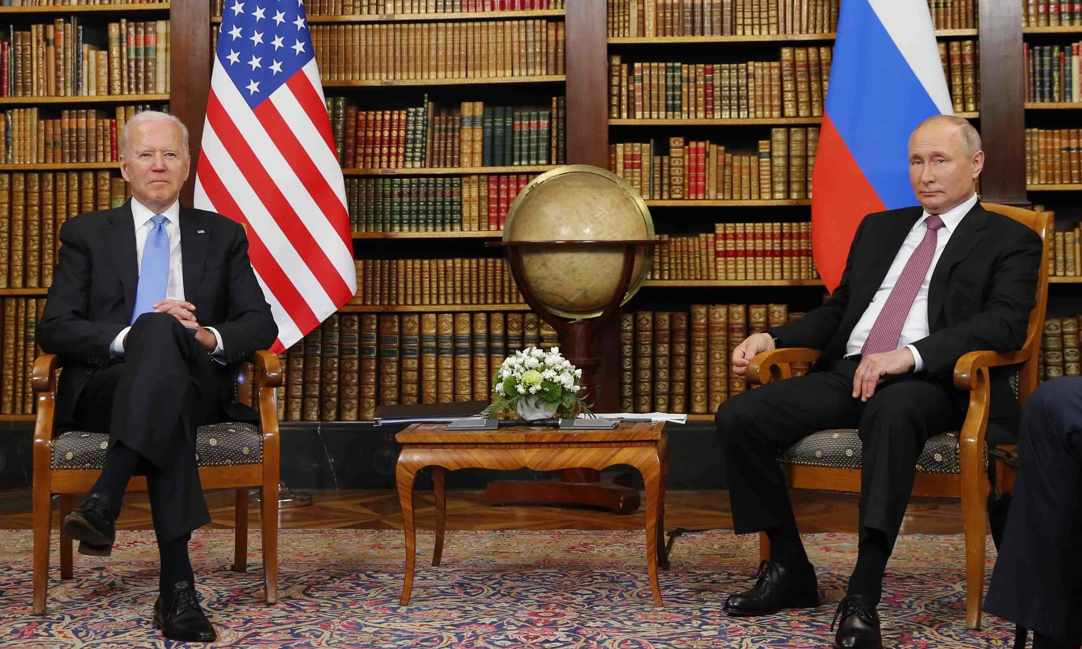 Putin, Biden meet in Geneva, agree to ambassadors' return