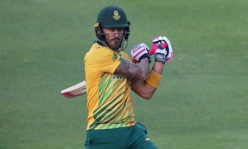 Du Plessis ruled out of remaining PSL games
