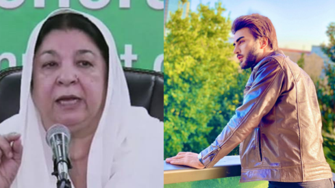 Imran Abbas is all praises for Punjab Health Minister Dr Yasmin Rashid