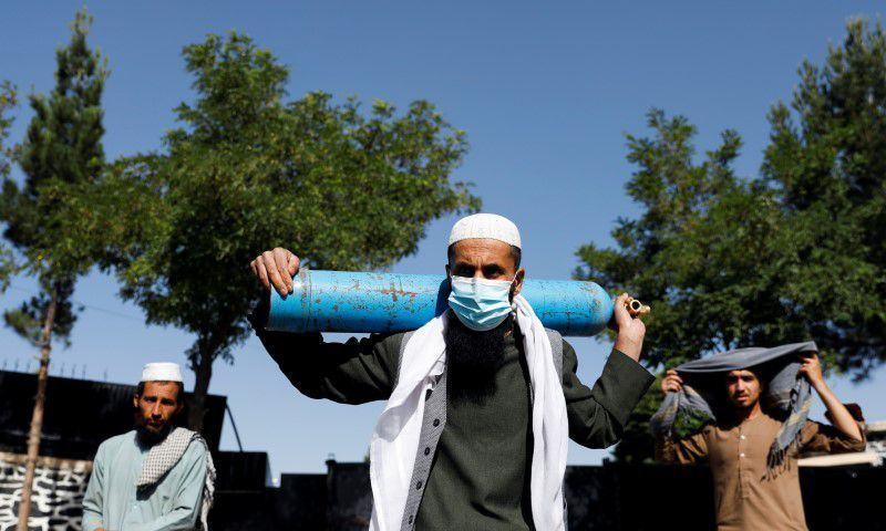 Covid-19 out of control in Afghanistan as cases up 2,400pc in a month