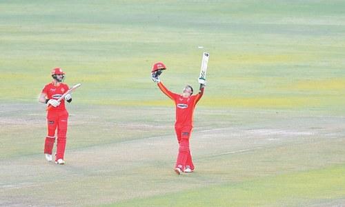 Khawaja ton fires United past spirited Zalmi
