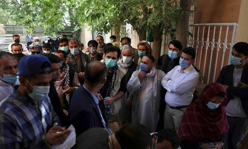Covid infections in Afghanistan getting out of control