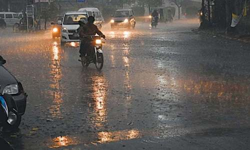 Man, son die in wall collapse as thunderstorm, rain hit many districts in Sindh