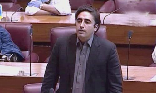 جنابِ اسپیکر! آپ کو نیا پاکستان مبارک ہو، بلاول کا طنز