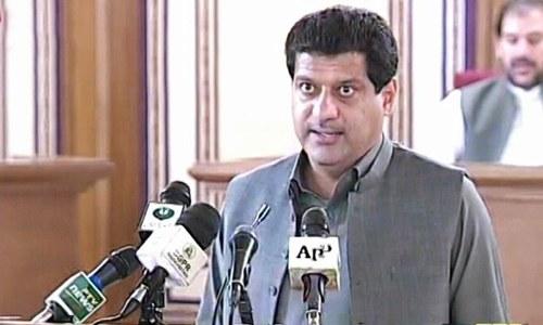 بلوچستان اسمبلی: اپوزیشن کے شدید احتجاج کے باوجود مالی سال 22-2021 کا بجٹ پیش