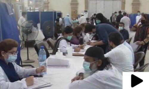 کراچی میں کورونا ویکسین کی قلت