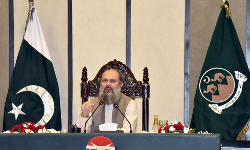 Balochistan CM deplores opposition's violent attitude