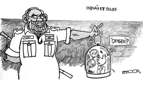 Cartoon: 19 June, 2021