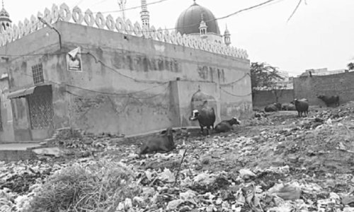 Littering around places of worship