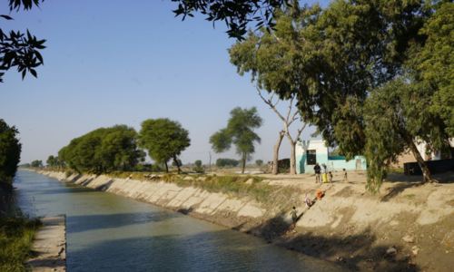 Sindh agrees to water flow measurement by 'neutral' experts