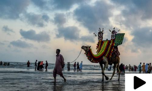 کراچی کے ساحل کی رونقیں بحال ہوگئیں