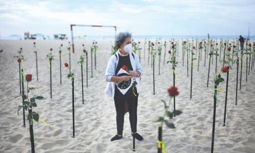 Third pandemic wave arrives as Brazil surpasses 500,000 deaths