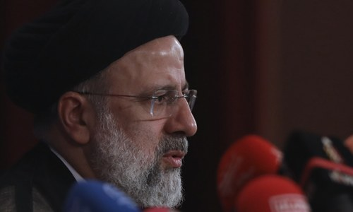 Raisi calls for 'effective' nuclear talks, rules out meeting with Biden