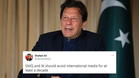 Twitter isn't too impressed with the PM Office's unedited video of PM Imran's interview