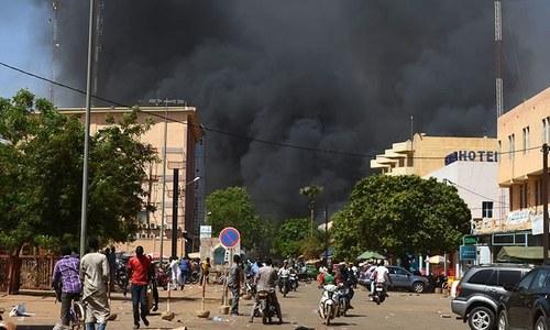 برکینا فاسو: دہشت گردوں کے حملے میں 11 پولیس افسران ہلاک