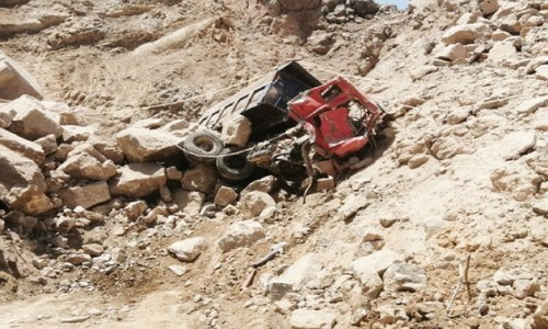 Haripur landslide kills machine operator