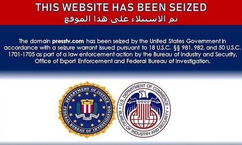 امریکی حکام نے متعدد سرکاری ویب سائٹس پر قبضہ کرلیا، ایران کا دعویٰ
