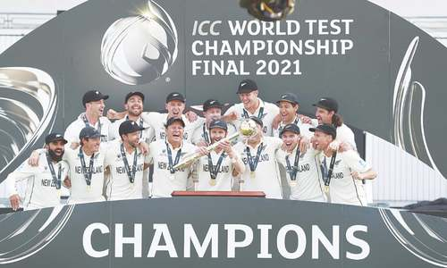 New Zealand beat India in gripping final to claim WTC title