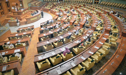 Sindh Assembly post-budget session marred by MQM ruckus