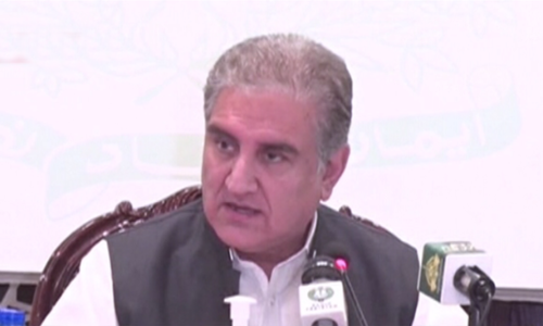 Modi's meeting with Kashmiri leaders a 'PR exercise' that achieved nothing: FM Qureshi